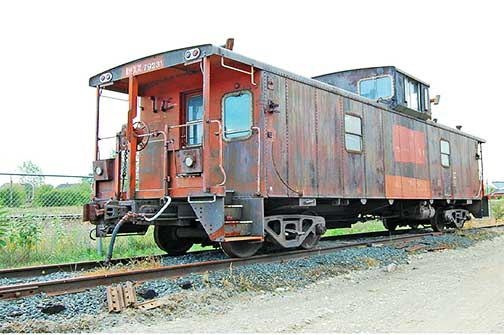 ex CN 79231 in Capreol at NORMHC, 2011