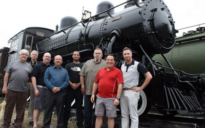 Temiskaming and Northern Ontario Steam Locomotive #219